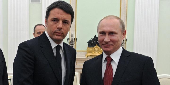 """İtalya Başbakanı: """"Rusya ve Avrupa'nın Yakınlaşması Lâzım"""""""