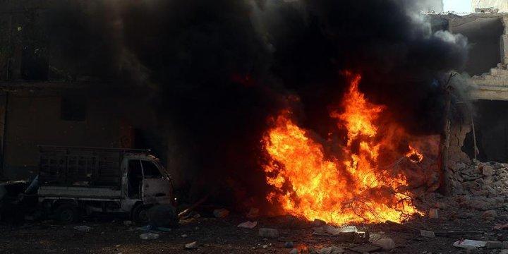 Esed'den Halep'e Varil Bombalı Saldırı: 15 Ölü