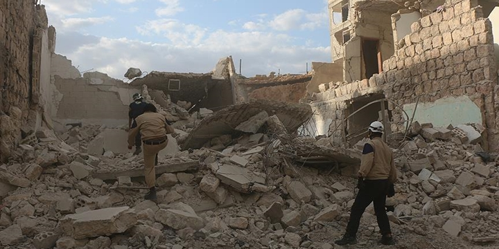 Esed Rejimi Misket Bombasıyla Saldırdı: 10 Sivil Hayatını Kaybetti!