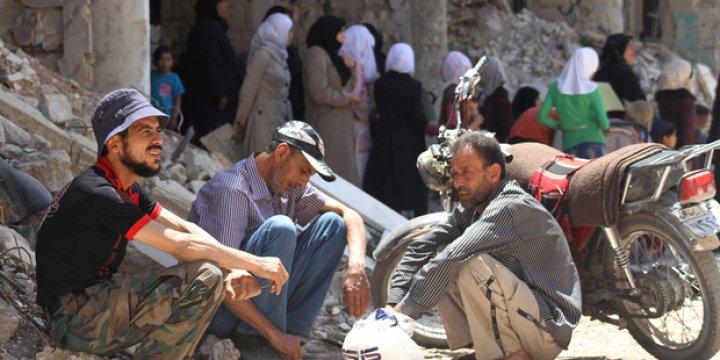 Kuşatmayı Yaran Direnişçiler Daraya'ya İlerliyor!