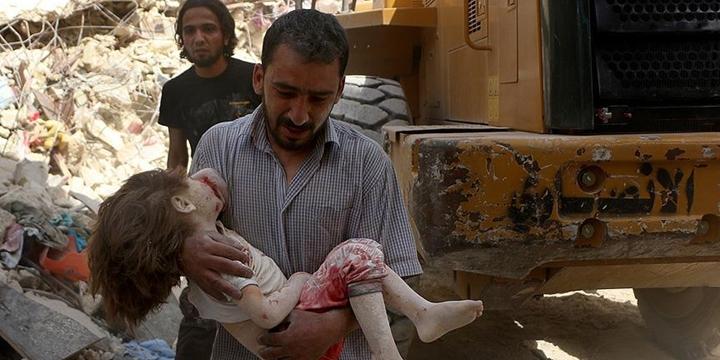 Esed Rejimi Halep'e Saldırdı: 8 Sivil Hayatını Kaybetti!