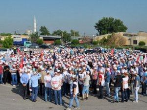 Bursa'da Nestle İşçileri Grevde