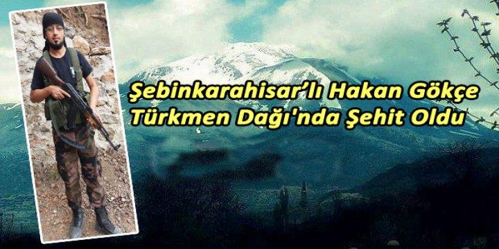 Giresunlu Bir Mücahid Türkmendağı'nda Şehit Düştü!