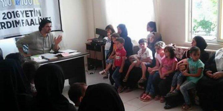 Asır-Der'den Yeni Kampanya: 100 Yetime, Her Ay 100 TL!