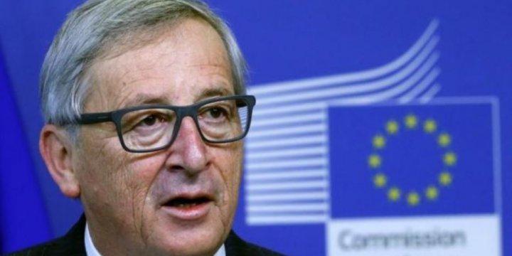 AB Komisyonu Başkanı Juncker Basın Toplantısını Terk Etti
