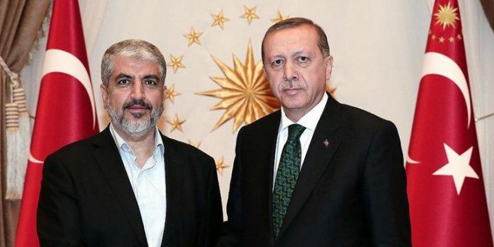 Halid Meşal: Türkiye Halkının Cesareti Takdire Şayan