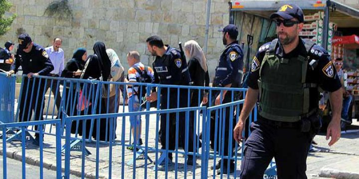 İsrail İşgal Güçleri Mescid-i Aksa'ya Girdi
