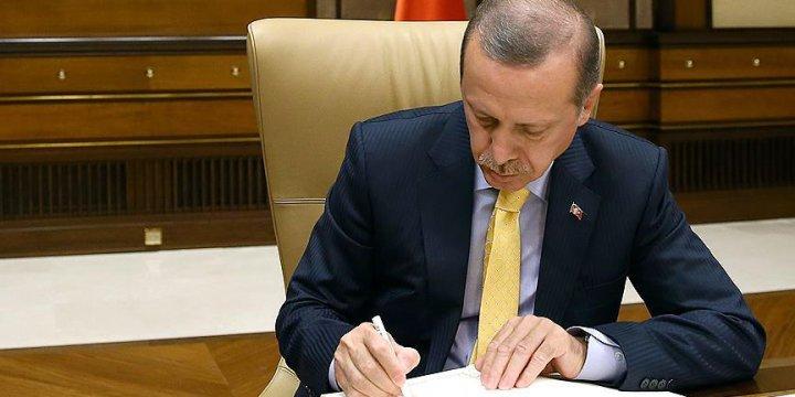 Cumhurbaşkanı Erdoğan TSK Personel Kanunu'nu Onayladı