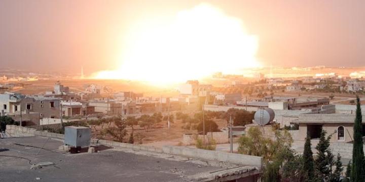 Putin Halep'i Yasaklanmış Silahlarla Yakıyor!