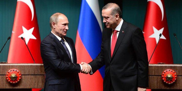 Erdoğan-Putin Yarın Görüşecek