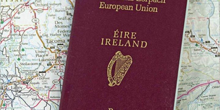 İrlanda Pasaportlarına Hücum