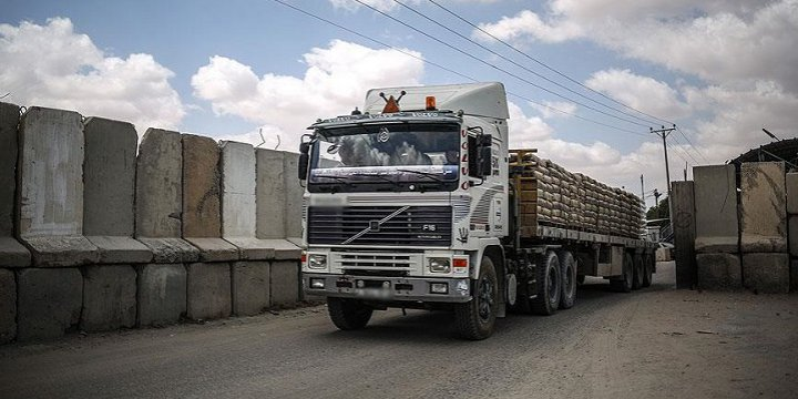 Mısır, Gazze'ye Çimento Girişine İzin Verdi