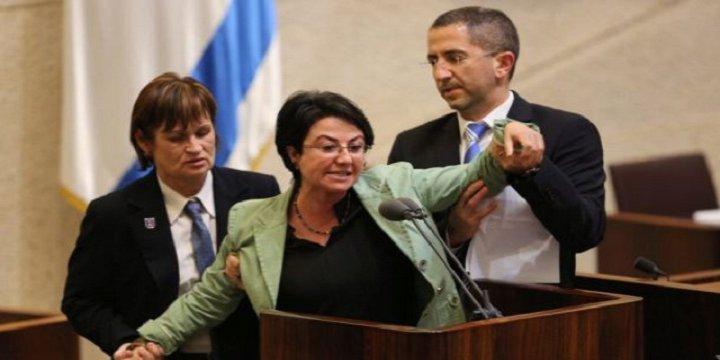 İsrail Meclisi'nde Mavi Marmara Kavgası
