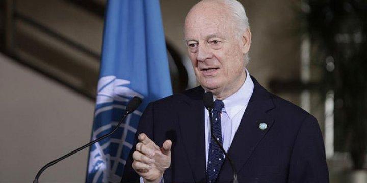 De Mistura: Suriye Müzakereleri Yine Tıkanabilir