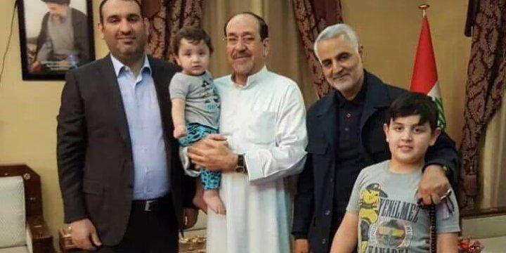 Katil Kasım Süleymani, Maliki'nin Sofrasında