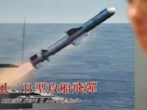Tayvan Yanlışlıkla Çin'e Süpersonik Füze Fırlattı