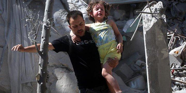 Esed Rejimi Halep'te Sivilleri Vurdu: 5 Ölü