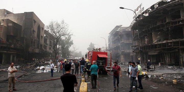 Bağdat'taki Vahşi Saldırıda Ölü Sayısı 151'e Yükseldi