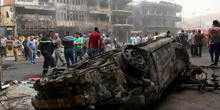 Bağdat'taki Vahşi Saldırıda Ölü Sayısı 204'e Yükseldi!