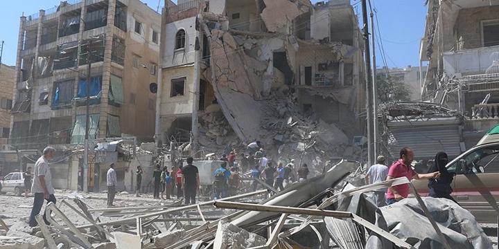 """BM, Halep'teki Sivillerin Durumundan """"Derin Endişe"""" Duyuyormuş!"""