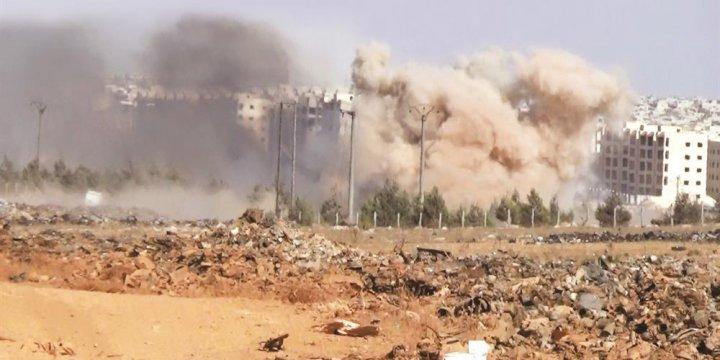 Kastillo Kapandı Halep Yolu Kesik