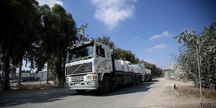 """""""Yardımların Diğer Bir Kısmı Yarın Gazze'ye Girmeye Başlayacak"""""""