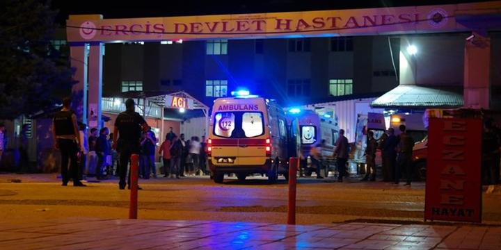 Erciş'te Jandarma Karakoluna PKK Saldırısı!