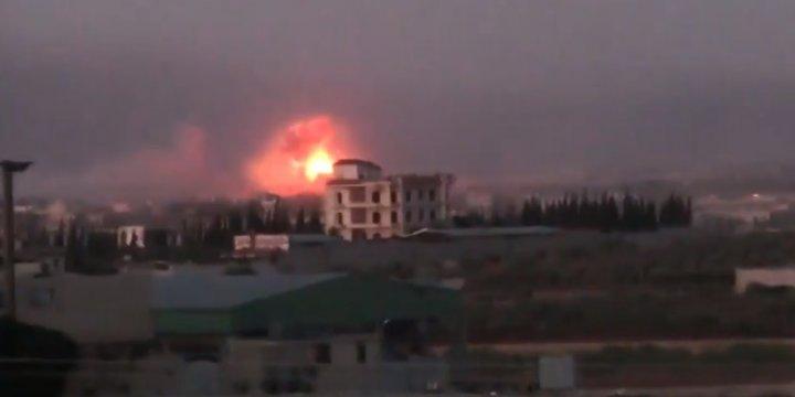 Nusret Cephesi Halep'te Karşı Saldırıya Geçti