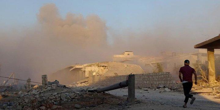 Rus Jetleri Halep'te Sivilleri Katletti: 4'ü Çocuk 19 Ölü