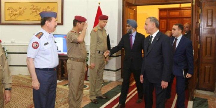 ABD ve Kanada Savunma Bakanları Irak'ta