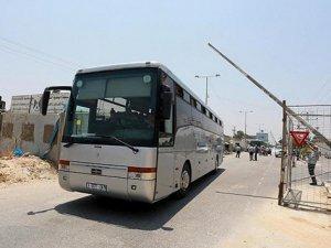 Beyt Hanun Sınır Kapısı Araçların Girişine Açıldı