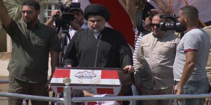Sadr Yanlıları Bağdat'ta Meydanlara İndi