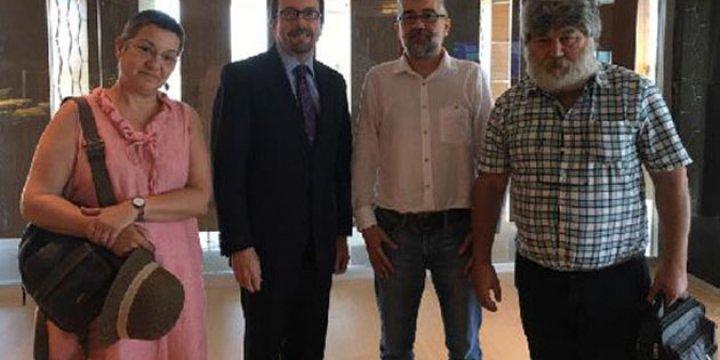 Amerikan Elçisinden Özgür Gündem Sanıklarına Ziyaret