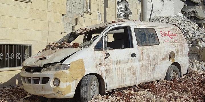 """""""Halep'te Durum Çok Kötü"""""""