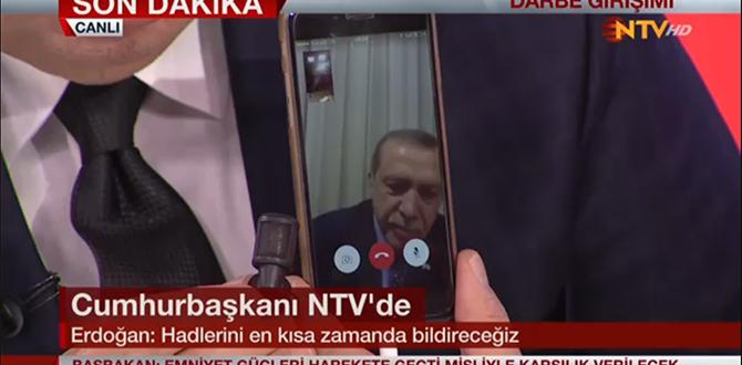 Erdoğan: Atatürk Havalimanı Kulesi İşgal Edildi