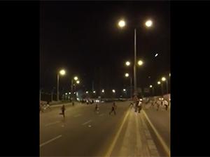 Ankara'da Çatışma Görüntüleri (VİDEO)