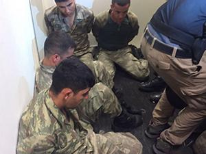 Beştepe'ye Girmeye Çalışan Askerler Gözaltında!