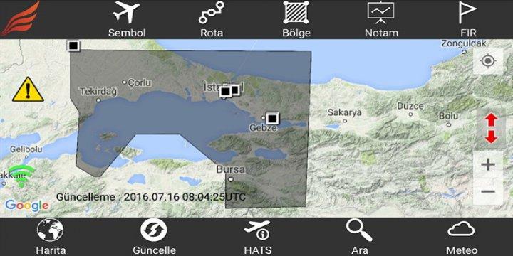 Marmara Hava Sahası Kapatıldı