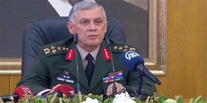 Birinci Ordu Komutanlığından Kararlılık Açıklaması
