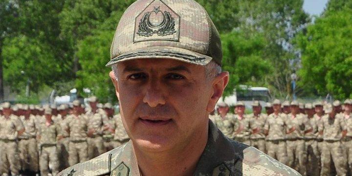 Kastamonu Jandarma Bölge Komutanı Tuğgeneral Bal Tutuklandı