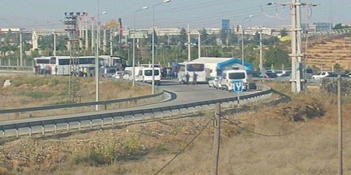 Konya Jet Üssündeki Darbecileri Polis Gözaltına Alıyor