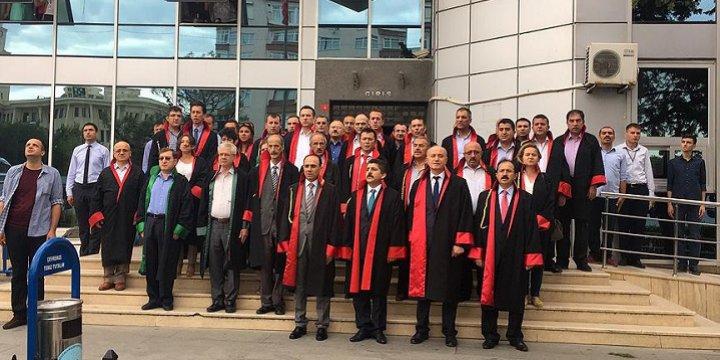 Büyükçekmece Adliyesi Hakim ve Savcılarından Darbe Girişimine Tepki