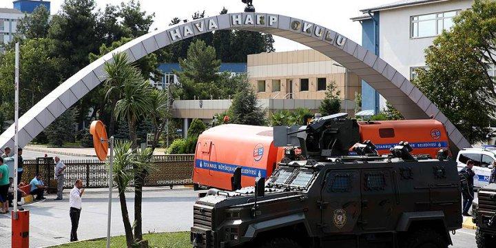 Harp Akademileri Komutanlığı'ndaki 15 Subay Tutuklandı