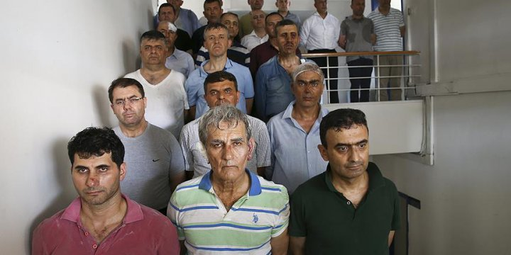 Akın Öztürk ve Darbeci Generaller Tutuklandı