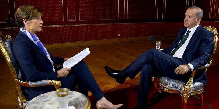 Erdoğan Darbe Girişimi Sürecini CNN'e Değerlendirdi