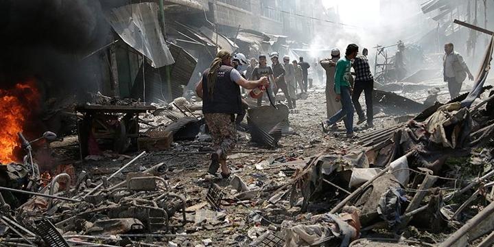 Koalisyon Güçleri Menbic'de Sivilleri Vurdu: 85 Kişi Hayatını Kaybetti!