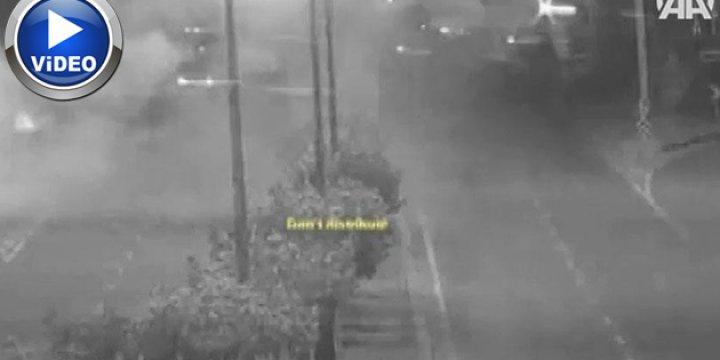 Darbecilerin Beştepe'ye Saldırısı Güvenlik Kameralarına Yansıdı (VİDEO)