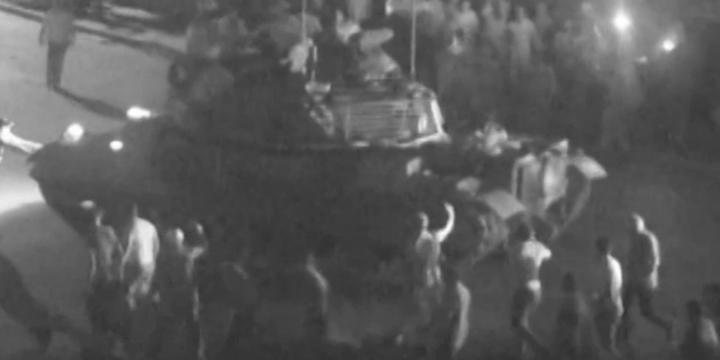 Ankara'daki Darbe Kalkışması MOBESE Kayıtlarında (Video)