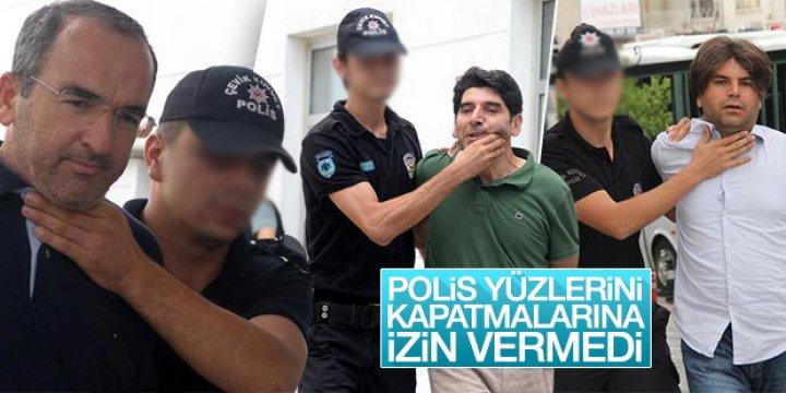 Polis Darbecilerin Yüzlerini Kapattırmadı
