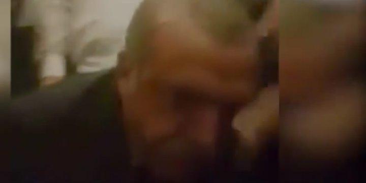 Erdoğan Havaalanında Yaralı Direnişçinin Alnından Öpüyor